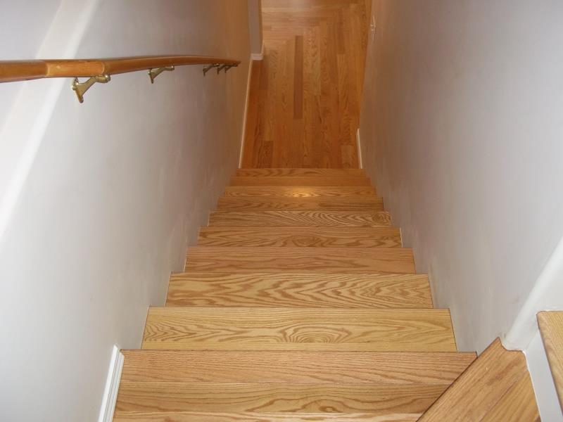 This Engineered Hardwood Floor Was Installed Over A Radiant Heated Concrete Slab The Flooring Carpeted And Hid Uneven S In